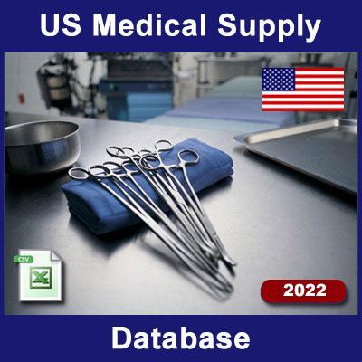 US Medical-Dental Equipment Supplier Database | USBizData com
